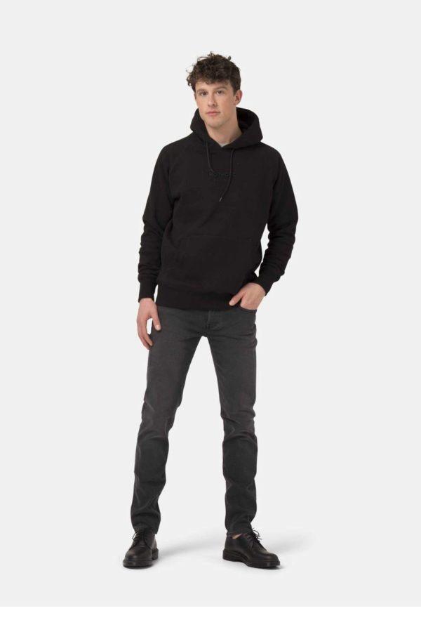 MUD jeans-Slim-Lassen-Stone-black