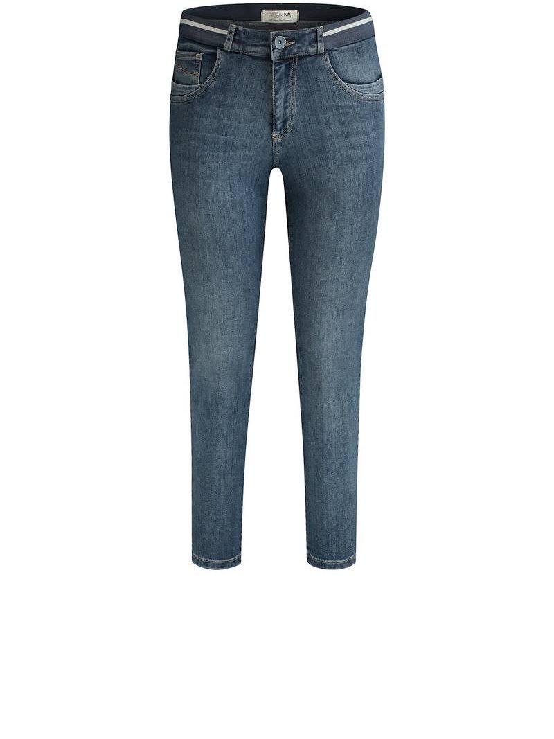 Para-Mi-jeans-Capri-Elastic-P-form-Denim-Medium-Stone